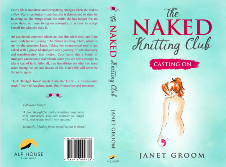 The Naked Knitting Club Chick Lit Series By Janet Groom